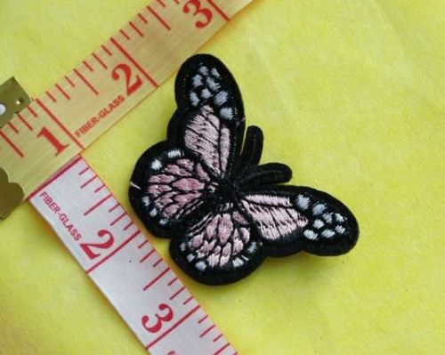 Sew On| iron on |Applique Motif  | Butterfly B 05